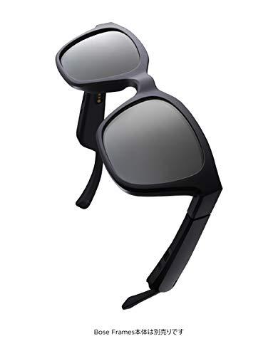 BOSEFRAMESALTOワイヤレスオーディオサングラス&オプション偏光レンズミラードシルバー