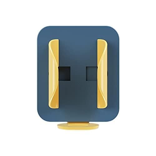 LUDAXUE 4 PIEZAS La gravedad se adapta automáticamente al organizador del baño del cepillo de dientes, soporte de almacenamiento sin punch, organizador de cepillo de dientes, bastidor colgante montado