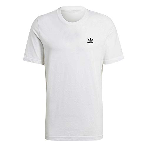 adidas GN3415 Essential Tee T-Shirt Uomo White L