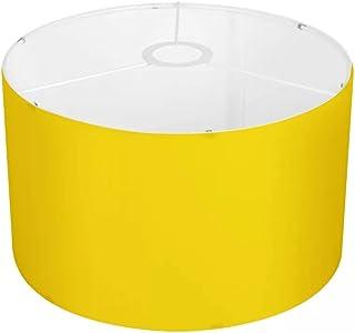 Amzbeauty Exquis abat-jour jaune vif contemporain élégant pour chambre d'enfant lampe de table ou suspension