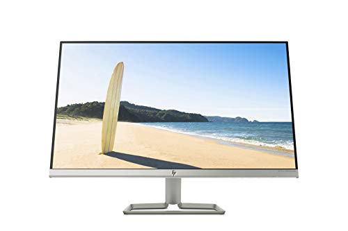 "HP 27fwa - Monitor Full HD de 27"" (1920 x 1080, panel IPS LED, 16:9, HDMI 1.4, 5 ms, 60 Hz, AMD FreeSync, Altavoces incorporados), Color Blanco Nieve"