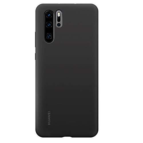 Huawei P30 Pro Custodia Silicon Case, Accessorio Originale, Nero