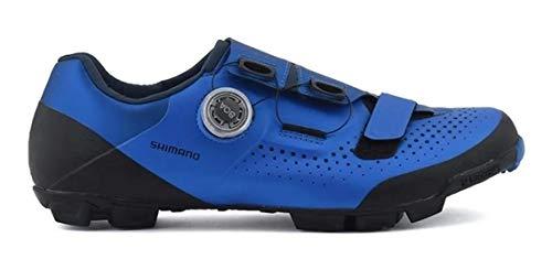 SHIMANO Xc5 (Xc501) SPD Zapatos, Azul, Talla 45