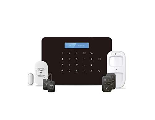 Kit de Alarma SIN cuotas Domótica THI-1 (WiFi + GSM) conectada a Internet + Línea Móvil | Seguridad para tu Casa, Negocio | SIN cuotas y SIN Límites | CONTROL TOTAL de tu Sistema desde el Móvil