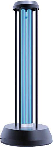 Lampada sterilizzatrice a raggi UV da tavolo, purifica l'aria, sino a 60 mq, telecomando con timer in dotazione