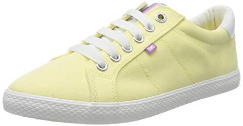 TOM TAILOR Damen 8091002 Sneaker, Gelb (Yellow 00260), 40 EU