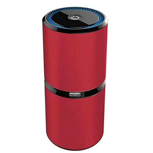 YANGSANJIN Air Purifier, luchtreiniger, ionisator met HEPA-actieve kooltjes, grof filter tegen huisstof, fijnstof, pollen, huisstofmijt, geuren, ideaal voor mensen met een allergie en astmapatiënten