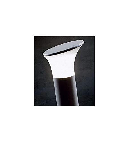 Lampada Palo Paletto A Taglio Per Giardino Colore Alluminio Per Esterno Linea Stem Sovil