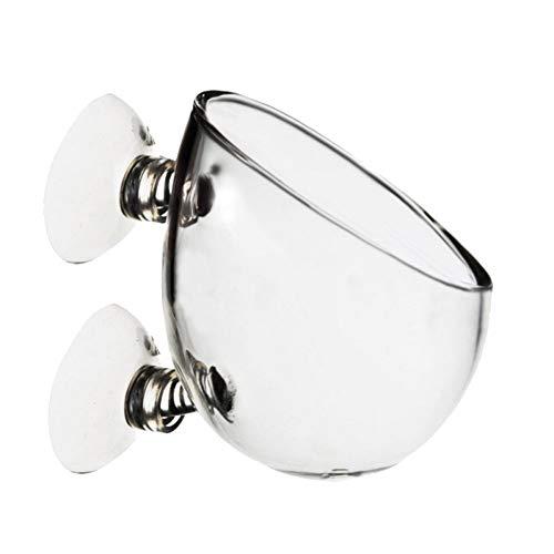 quanjucheer – Soporte de Pared para Acuario o pecera, Cristal Transparente