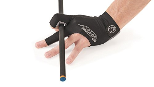 PREDATOR Handschuh, Second Skin, 3-Finger, schwarz-grau Größe S&M