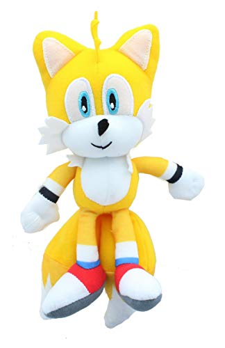 Johnny's Toys Sonic The Hedgehog 8 Inch Stuffed Character Plush | Modern Knuckles