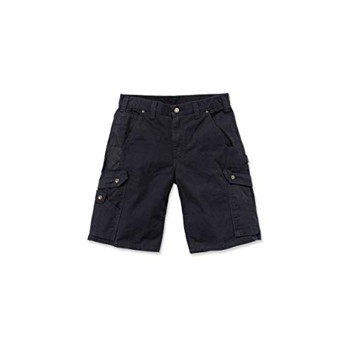 Carhartt Carhartt RipStop Cargo Shorts Farbe:-Black Gr:-W40