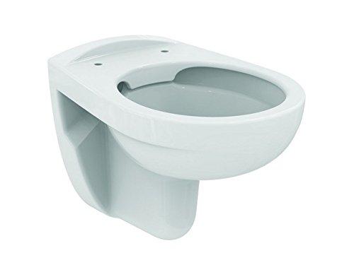 Ideal Standard Eurovit Wand-Tiefspül-WC ohne Spülrand, weiss, K284401