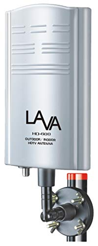 LAVA Outdoor TV Antenna, Support 4K 1080P Digital HDTV VHF UHF Freeview with Amplifier Signal Booster