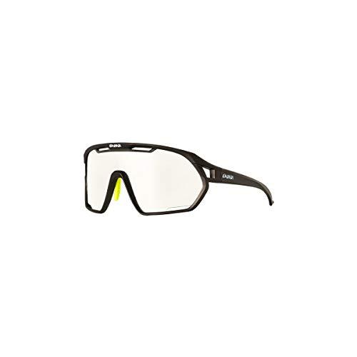EASSUN Gafas de Ciclismo Paradiso, Fotocromáticas, Antideslizantes y Ajustables con Sistema de Ventilación - Gris Grafito