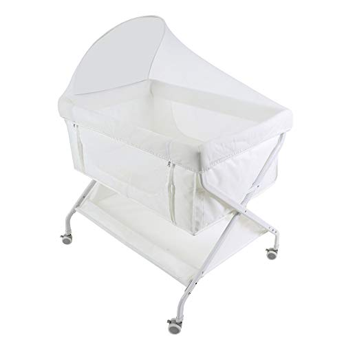 Buy Xinrangxin Portable Neonatal Travel Crib, Multi-Function Foldable Baby Cradle, with Mosquito Net...