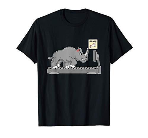 Lustige Einhorn Sport Laufband Parodie - Einhorn Fitness T-Shirt