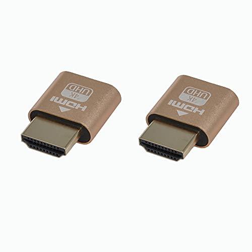 WLGQ 4K HDMI Dummy Plug –...