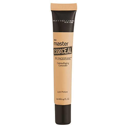 Maybelline New York Facestudio Master Conceal Makeup, Light/Medium, 0.4 fl. oz.