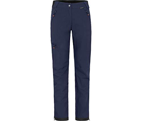 Bergson Damen Sommer Softshellhose TESSE (Regular fit), Peacoat Blue [368], 22 - Damen
