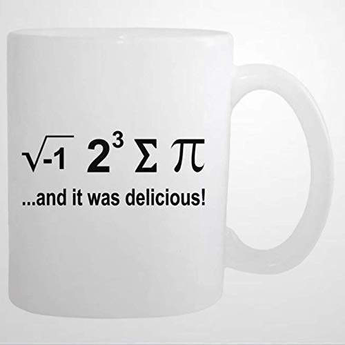 Coffee Cup I Ate Some Pie Sum Pi Math Nerd Tea Cup Funny Coffee Mug 11 oz Ceramic coffee or Tea cup Mug Birthday Festival Christmas