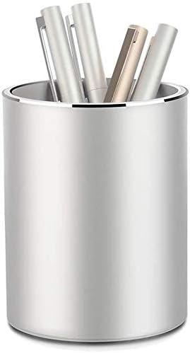 Pen Holder Round Metal Pencil Holder Pen Holder Round Aluminum Desktop Organizer and Cup Storage product image