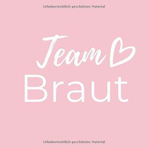 TEAM BRAUT: Gästebuch QUADRAT Rahmen für den Junggesellenabschied   JGA   Junggesellinnenabschied...