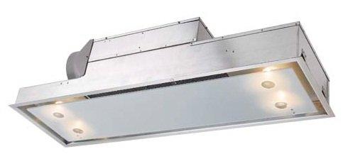 WESCO: Deckenlüfter mit Randabzug EVR 10-60 (606x305mm) Edelstahl
