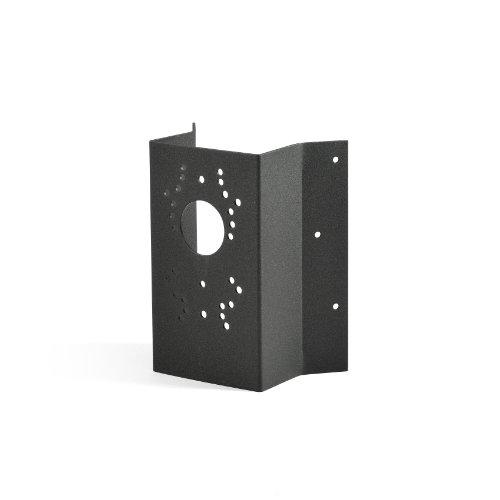 Konstsmide Eckbefestigung 448-750 / B: 11cm T: 5cm H: 19cm / / lackiertes Aluminium / matt-schwarz