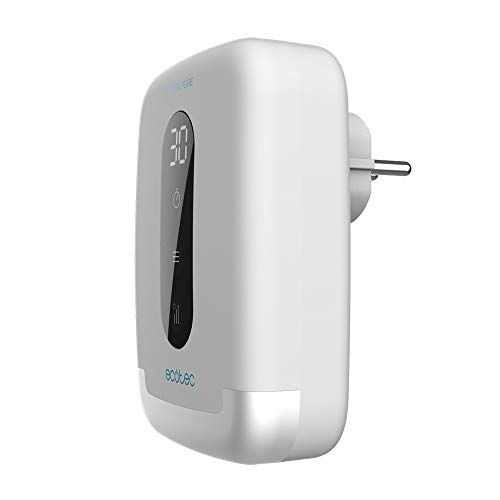 Cecotec Generador de Ozono Doméstico TotalPure 2000 Ozone. 5 W, 100 MG/h, Ideal para baños o despensas, Pantalla, Temporizador, 3 Velocidades de Funcionamiento, Portátil