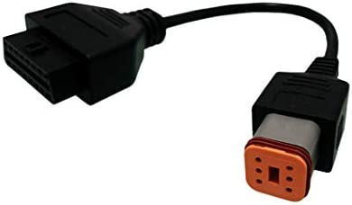 SuperOBD for 6Pin obdii Cable Harley Motorcycle Motorbike Davidson etc Adapter to get Diagnostics product image