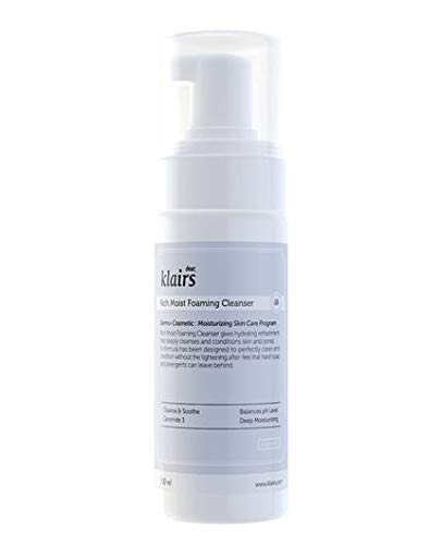 Klairs, Rich foam cleanser Espuma limpiadora e hidratante facial - 1 unidad