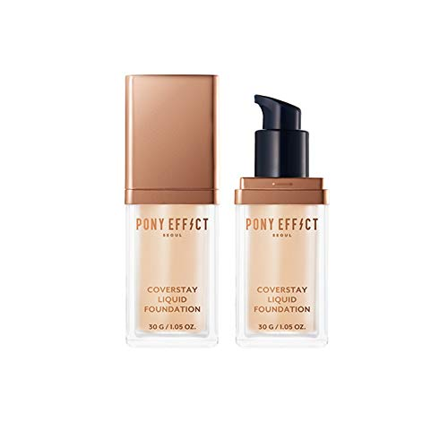 Pony Effect Cover Stay Liquid Foundation 30g / Creamy base (ROSY IVORY)