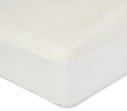 Dormisette Q32 molton hoeslaken, 180/200 cm voor matrashoogtes tot ca. 23 cm hoog, ruw wit