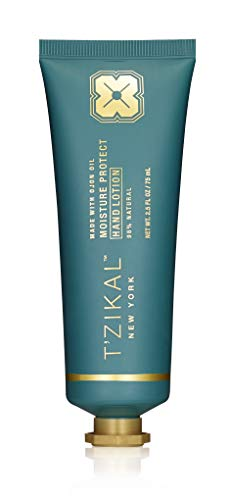 T'zikal's Moisture Protect Hand Lotion- natural hand lotion with ojon oil for itchy hands and dry cracked skin -Paraben free hand lotion to repair dry hands