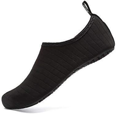 OUYAJI Water Shoes Beach Swim Barefoot Shoes Quick Dry Aqua Socks Yoga for Women's Men's Kid Summer