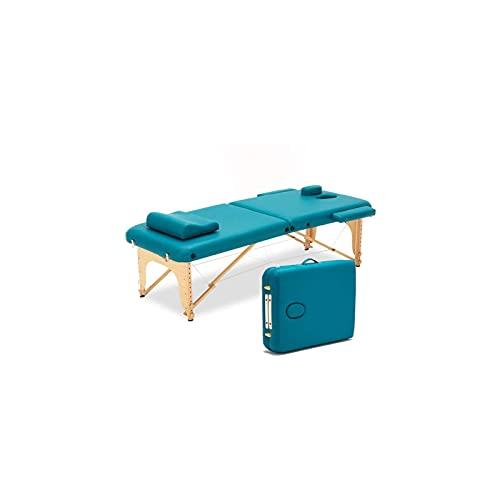 KSDCDF Plier Le Massage de Massage lit de Tatouage du Visage Salon de Salon 2 Pliante Table de...