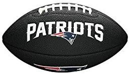 NFL Team Logo Mini Football Black New England Patriots product image