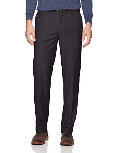 Dockers Men's Straight Stretch Signature Dress Pant, Black, 40x32