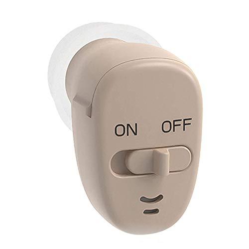 Hörverstärker - Schallverstärker, Lautstärkesammler, unsichtbare Mini-Kopfhörer für Gehörlose, ältere Menschen mit mäßiger Hörbehinderung