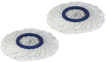 Twist and Shout Mop - 2 Replacement Mop Heads Only