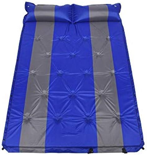 Tapis Gonflable à Double Couture pour Camping-Car en Plein air, Coussin Gonflable épaississement élargissant Les Tapis de Pique-Nique de Camping
