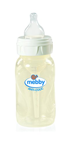 Mebby 92615 Biberon Step 1+2, Anti-Colica con...