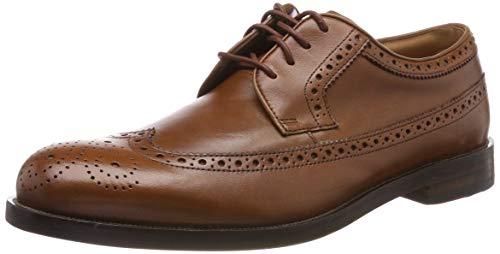 Clarks Herren Coling Limit Derbys, Braun (British Tan Leather), 42 EU