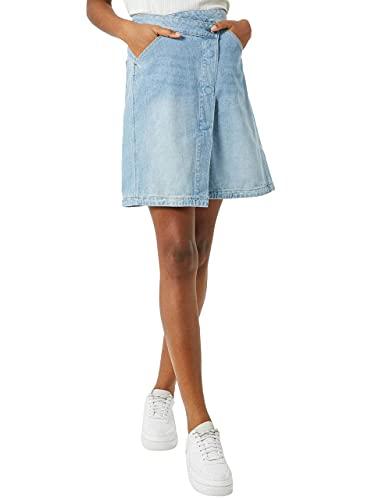 G-STAR RAW 5621 Wrap_Rock Falda, Azul (Sun Faded Blue Stone 8973-b378), 31W para Mujer