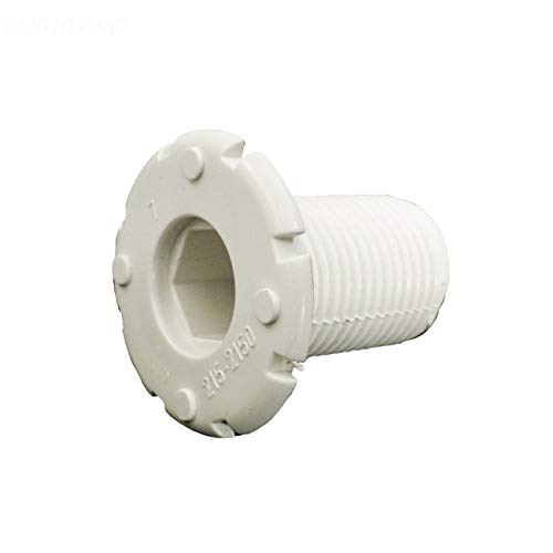 Best Deals! The Pool Supply Shop White Waterway Air Injector Wall Fitting