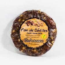 Pan de datiles con nueces de 200grs El Artesano