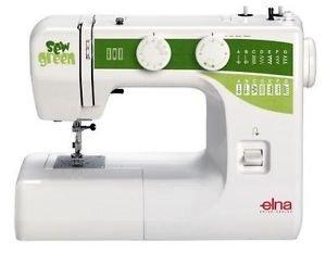 Elna E 1000 Sew Green - Máquina de coser