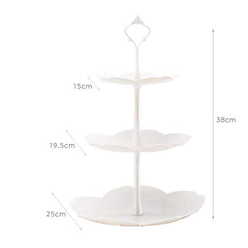 KIU thee bruiloftplaten party servies bakvormen condobberei drie lagen taart rack plank