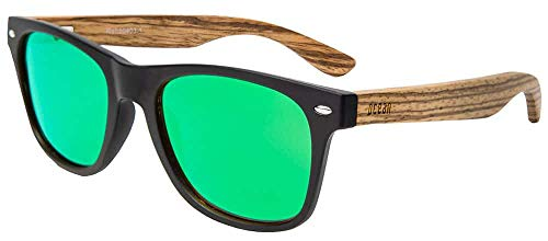 Ocean Behach Wood Black Green - Negro